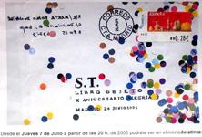 MONO DE LA TINTA MADRID 2005